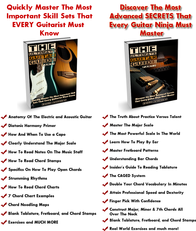 Guitar Lesson ebooks